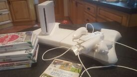 Wii Fit Bundle: Console, Balance Board, Wii Fit, Wii Active, Zumba etc