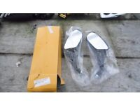 Pair of motorcycle mirrors