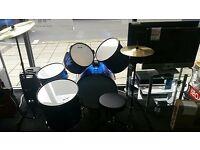 ClixStix Blue Drum Kit