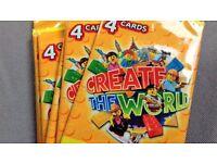 Lego Create The World Cards Swap Group