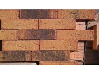 BRICK TILES YELLOW RED and BLACK FLAMED ref.286