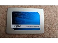 "Crucial BX100 120GB 2.5"" SSD Sata 6Gb/s Hard Disk Drive Macbook Apple PC Laptop"