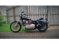 HARLEY DAVIDSON - 100th Anniversary Black Dyna FXD in Excellent condition
