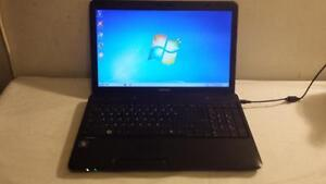 Used Toshiba C650 Intel Core i3 Laptop with Webcam and Wireles for Sale