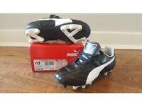 PUMA kids football boots size C11