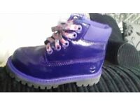 infant girls timberland boots size 7