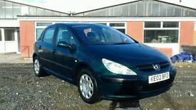 2002 Peugeot 307 2.0 hdi part exchange to clear