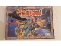 1990 Vintage WADDINGTONS THE KEY TO THE KINGDOM BOARD GAME 100% COMPLETE (RARE FIND)