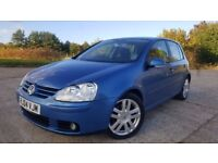 2004 Volkswagen Golf MK5 2.0 TDI GT 140 5dr Full VW S.History Perfect Condition