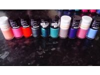 10 brand new nail varnishes