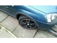 Vauxhall Corsa c sxi breaking wheels are gone