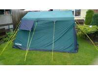 Eurohike Tent and 2 aluminium beds
