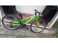 """Carrera Abyss Junior Hybrid Bike - 24"""" EXCELLENT CONDITION AND FULLY WORKING"""