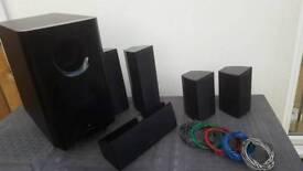 Onkyo 5.1 speaker set (Knaphill GU 21)