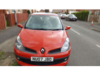 Renault Clio 1.4 16v Dynamique 5dr tested till march cheap to insure good runner