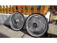 Honda c90 rims and tyres
