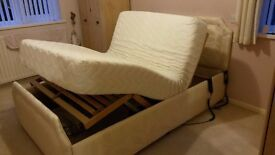 POWERNAP Bed 5 point massage wave system and independent head and foot lifting