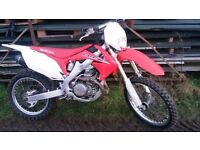2011 Honda CRF 450 enduro motocross trade in car bike jetski boat credit & debit cards accepted