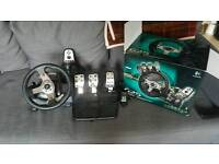 G25 Steering wheel with pedals and gear changer