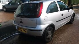 Vauxhall corsa 1l. Silver
