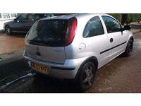 Vauxhall corsa 1l nippy