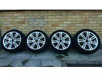 """BMW 17"""" Alloy wheels m sport"""