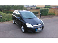 Vauxhall Zafira CDTI Diesel | 2009 | Black | Taxed and MOT Jan 2017 | 60k MIles | For Sale £2650 ONO