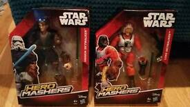 Brand New Star Wars Hero Mashers