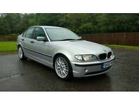 ☆ bmw e46 320d • full service history • remapped • m-sport black leather ☆