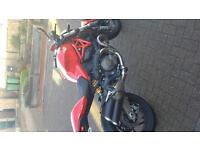 Ducati monster 821 stripe very low miles