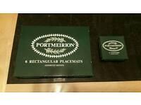 Portmeirion Botanic Garden Place mats & coasters (boxed)