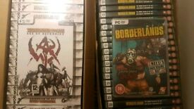 New old PC games Age of warhamer x 150 borderlands add on ×150