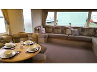 3 Bed static holiday home for sale at Regent Bay Morecambe pet friendly 12 month season