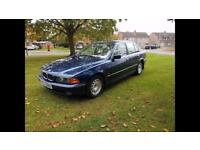 BMW 523i E39, Low miles, MOT Oct 2018