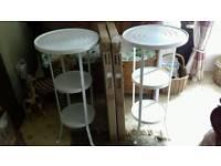 2 x Ikea Gunnern Tables