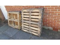 FREE - 4 full size wooden pallets