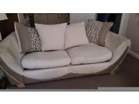 Selling two 3 seaters sofa one has a built in double pull out bed £ 350 would need collected
