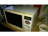 Microwave and combination oven