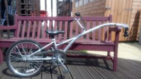"""Child's 20"""" saferider tag along bike. Good condition"""