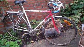 Olympique Super 10 vintage road bike