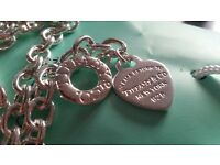 TIFFANY & Co chain and bracelet