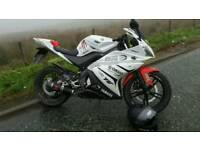 Yamaha YZF r125 - 62 plate 2012 50th Anniversary Edition (New Engine Fitted STILL UNDER WARRANTY)