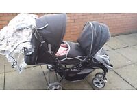Double stroller pushchair excellent condition