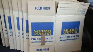 Moving Boxes - Metro Storage (Used Once for Books) Waverley Eastern Suburbs Preview