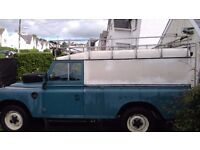 Landrover Series 3 LWB Diesel with loads of extras
