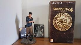 Uncharted 4: A Thief's End - Libertalia Collector's Edition (Perfect condition) (everything as new)