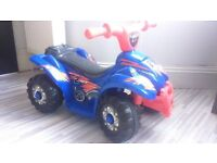 Evo ATV Kids Quad Ride On, suitable for ages 2+