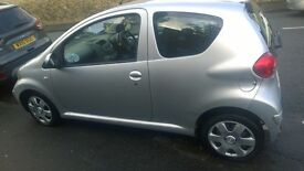 TOYOTA AYGO, 2006 model 12 months MOT, £30 tax a year £950
