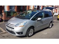 bargain must view this car : Citroen C4 grand Picasso. 7 seater, MOT FEB 2017, great family car