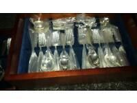 Davenport & Sullivan 120 silver plated cutlery set